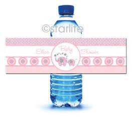 baby shower labels template 10 best images of printable labels for water bottles at