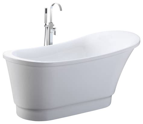 free standing bathtubs contemporary helixbath olympia free standing acrylic soaking bathtub