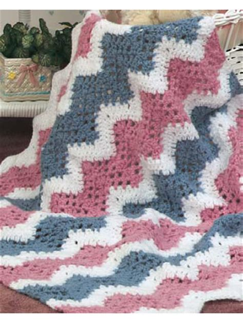 Crochet Ripple Baby Blanket Pattern by Craftdrawer Crafts Free Crochet Pattern Of The Day Sweet