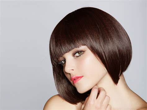 hairstyles for short dry hair blow dry short hair hair style and color for woman
