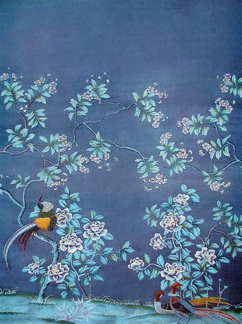 chinoiserie wallpaper uk blue how do they do that chinoiserie wallpaper this