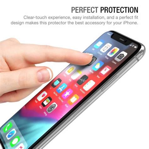 xdesign iphone  iphone xs iphone  pro glass screen protector  pack xdesign