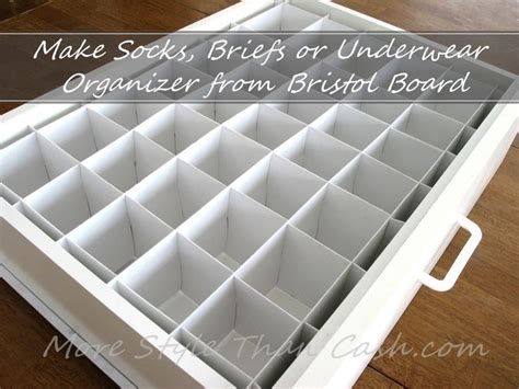 Sock Dividers For Drawers by 25 Best Ideas About Sock Storage On