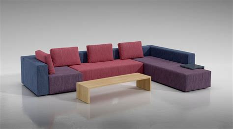 multi color sectional sofa multi color modular sofa 3d model cgtrader com