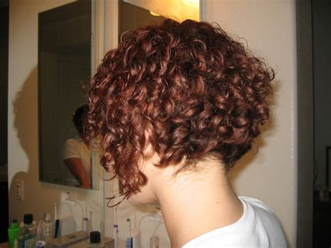 how to curl inverted bob inverted curly bob curly hair styles pinterest my