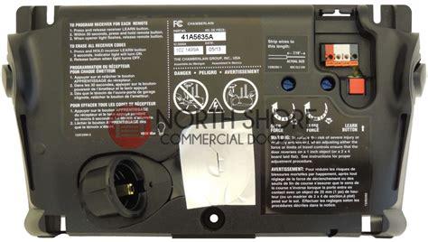 how to fix chamberlain garage door opener replacement circuit board 41a5635 for liftmaster garage door openers