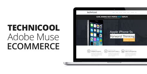 technicool muse ecommerce template by themejive