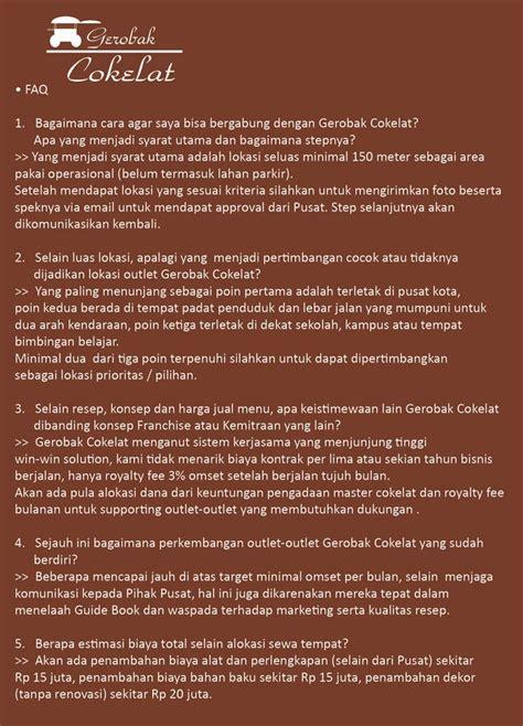 desain gerobak cokelat franchise cafe gerobak cokelat peluang bisnis cafe murah