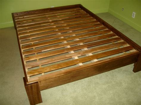Diy Platform Bed Frame King Platform Bed Frame