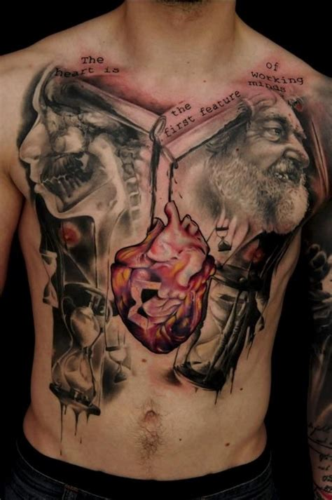 chest and back tattoo top 144 chest tattoos for men