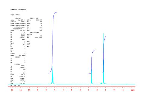 how does proton nmr work integration in proton nmr chemistry libretexts