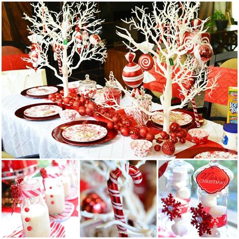 themes for christmas holiday parties kara s party ideas candy cane winter wonderland party