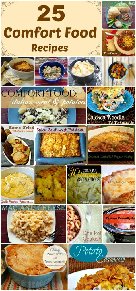 comfort food recipes 25 savory comfort food recipes