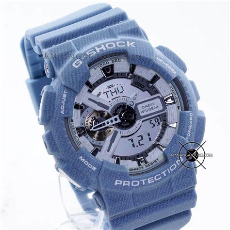 Gshock Biru Biru gambar jam tangan g shock ga110dc 2a7 biru muda
