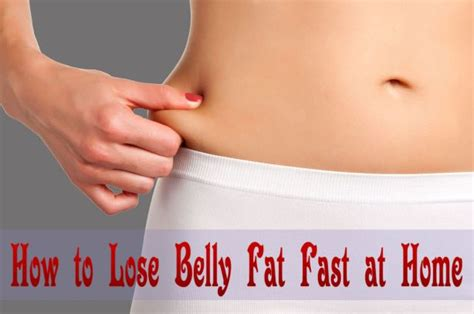 How To Shed Belly by How To Lose Belly Fast At Home Fitness