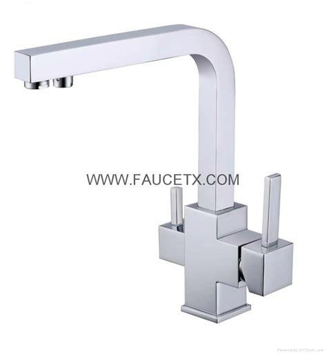 Reverse Osmosis Faucet Brushed Nickel Rolya Ice Cream Granite 3 Way Water Filter Taps Kf2398