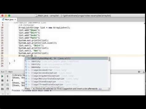java web tutorial youtube java arraylist tutorial youtube