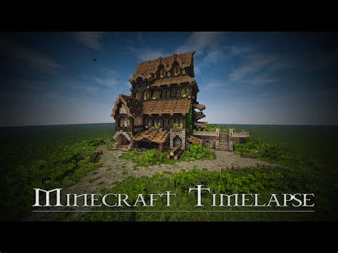 medieval house skyrim inspiration timelapse download minecraft project medieval house skyrim inspiration timelapse download