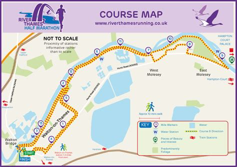 river thames towpath map river thames running river thames half marathon course map