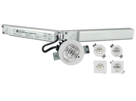 Lu Emergency Led Cmos luxpoint recessed led 3 watt egh lighting ltd