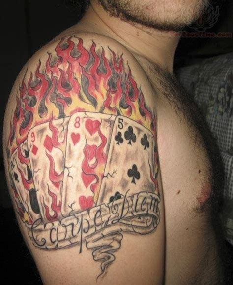 poker card tattoos designs images designs