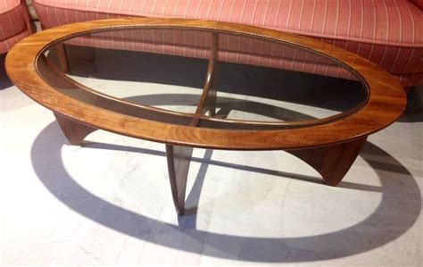 Glass Top Coffee Table Plans Oval Teak Coffee Table With Glass Top By G Plan For Sale At 1stdibs