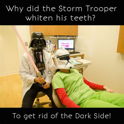 star wars dentist joke bright smiles