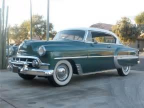 1953 chevrolet bel air 2 door hardtop front 3 4 75445