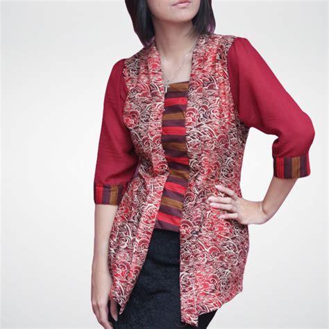 Baju Batik Wanita Blouse Batik Modern Cewek Query Dress model baju batik wanita untuk kerja ide model busana