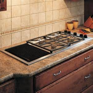 Preference 46 quot all gas cooktop with grill sgm464gg from dacor