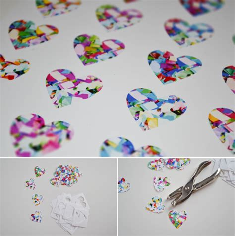How To Make Shrinky Dink Paper - colorful sis boom clip series confetti hearts