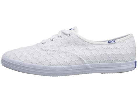 Kets Shoes Iii white eyelet keds shoes bierstadt