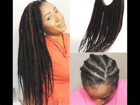 how to keep crochet box braids from coming out 30 minutes jumbo box braids crochet braids youtube