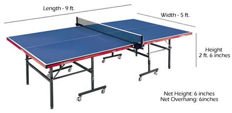 ping pong table height bogusanian