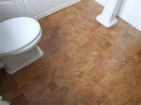 cork floor bathroom cork flooring for bathroom