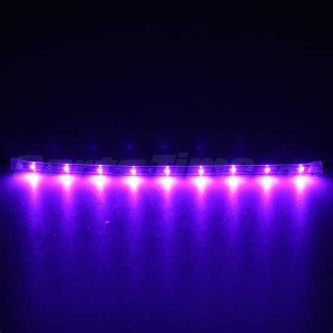 purple led light strips 4x 12 quot new purple footwell interior led underdash light bulbs smd ebay