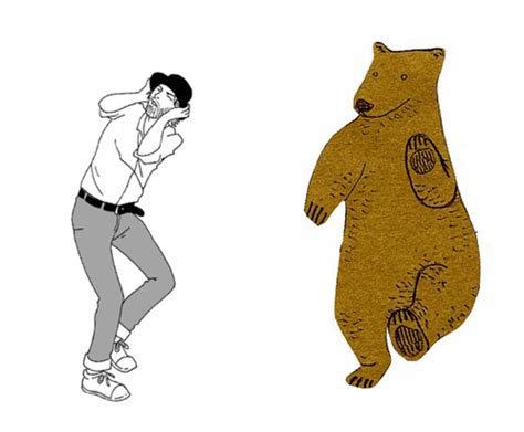 Dancing Bear Meme - when the thom yorke dance goes horribly wrong