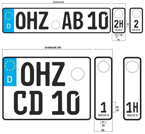 Motorrad Anmelden Kosten Berlin by Das Wechselkennzeichen F 252 R Pkw Auto Www