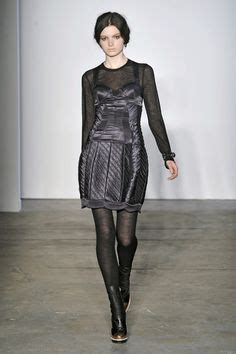Get The Proenza Schouler Fall 2009 Look With Connection by Proenza Drama Dresses Runway
