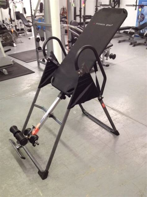fitness gear inversion table health and fitness
