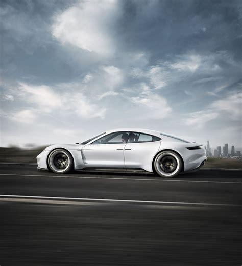 Porsche Production by Porsche Mission E Electric Car Production Set At 15 000