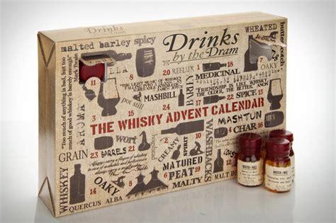 Whisky Advent Calendar Adventskalender Med Whiskey Lite Godis Var Dag Tjock
