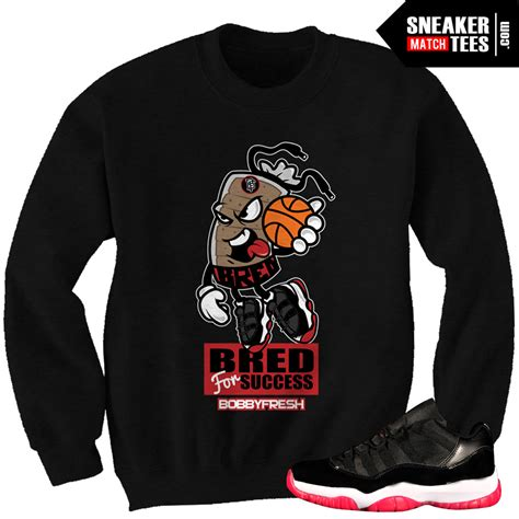 sneaker tees 11 bred matching sneaker tees bred for success