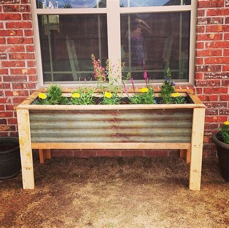 1000 ideas about raised planter boxes on