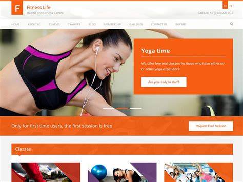best website for health and fitness 25 best fitness themes 2018 for gyms personal
