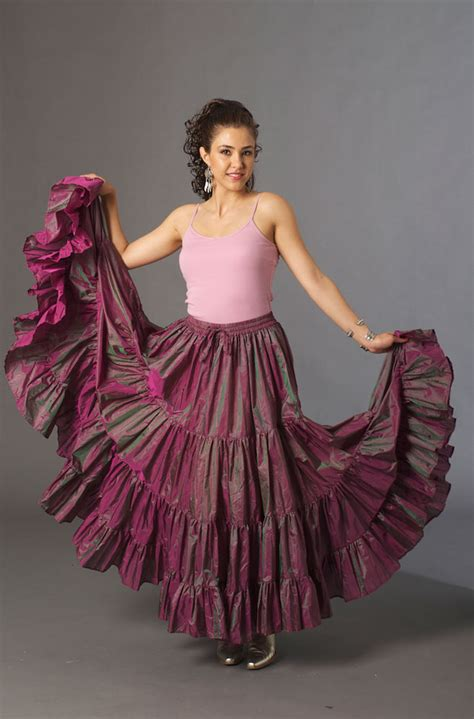 hairstyle on western long skirt images dress in style western orchard color long skirt ann n