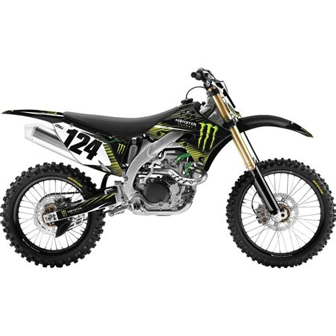 Monster Sticker Kit Für Kawasaki by Monster Motocross Birthday Effex Off Road Graphic Kit