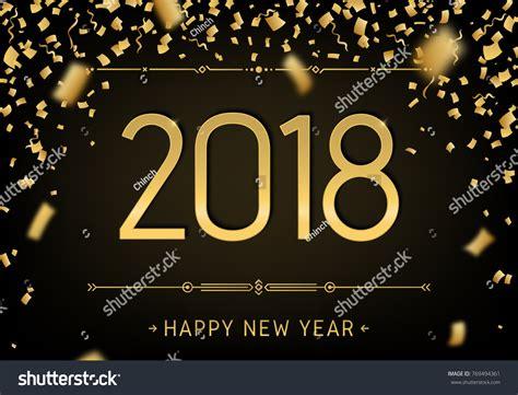 happy new year 2018 premium design stock vector 769494361