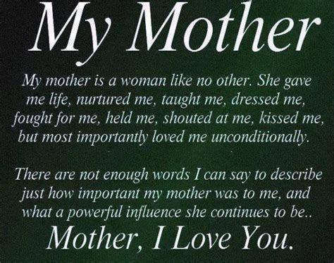 a biography about my mother mother quotes sayings images page 26
