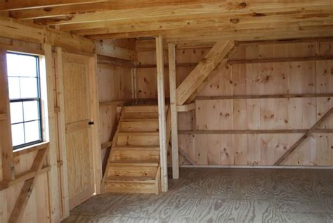 steps  raised roof storage shed projects pinterest
